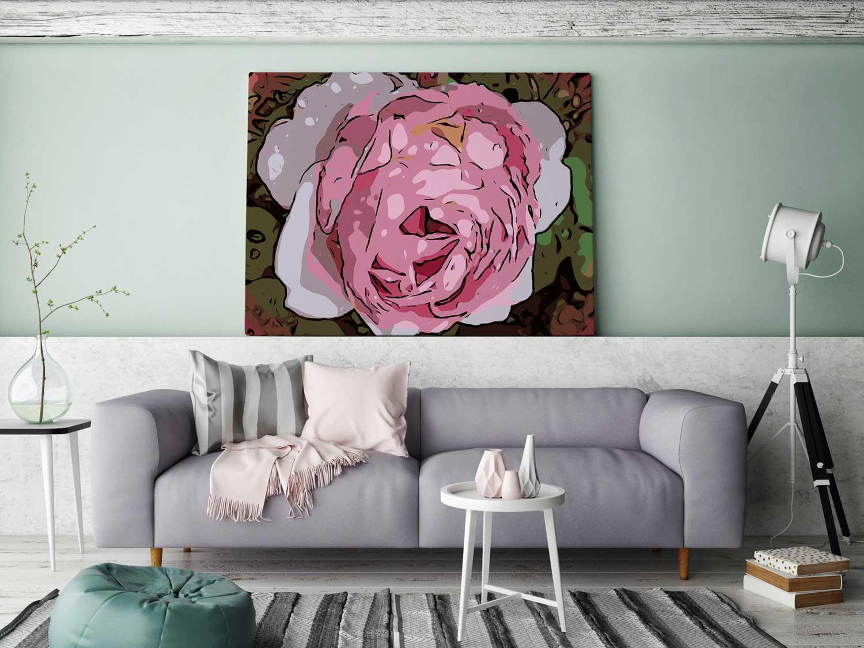 """Blumenposter """"WelikeFlowers"""" made by Robert H. Biedermann"""